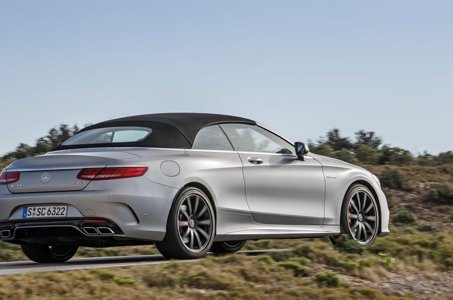 Mercedes-AMG S 63 Cabriolet rear