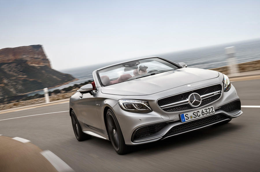 £135,675 Mercedes-AMG S 63 Cabriolet