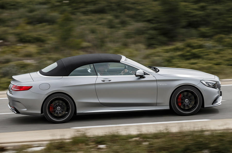 577bhp Mercedes-AMG S 63 Cabriolet