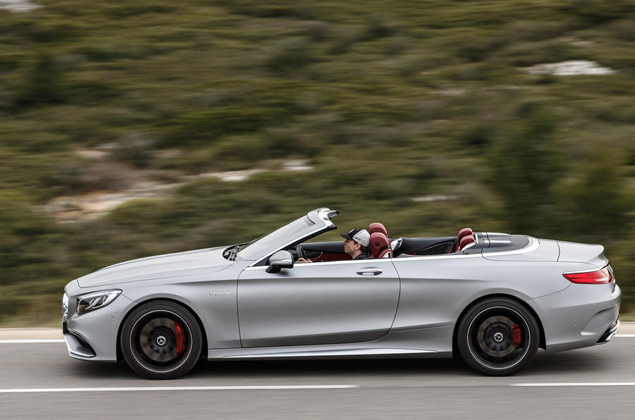 Roof down Mercedes-AMG S 63 Cabriolet