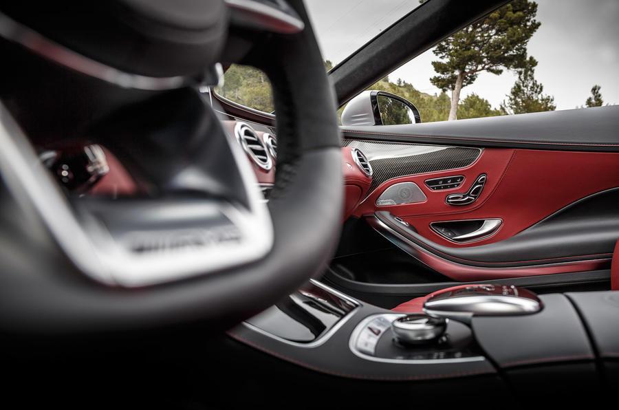 Mercedes-AMG S 63 interior