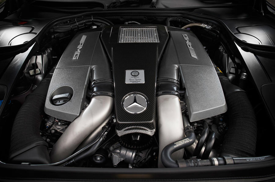 5.5-litre V8 Mercedes-AMG engine
