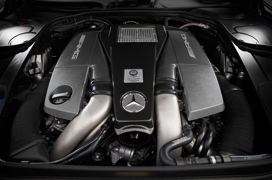 5.5-litre V8 Mercedes-AMG engine