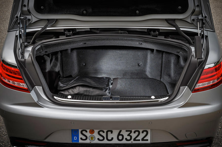 Mercedes-AMG S 63 boot space