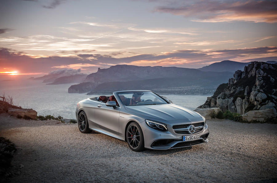 4 star Mercedes-AMG S 63 Cabriolet