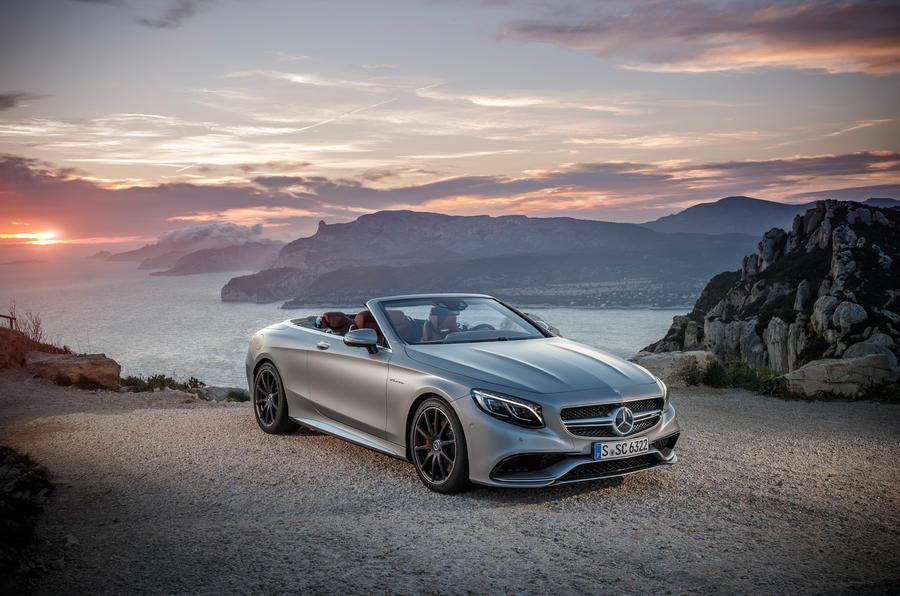 4 star Mercedes-AMG S 63 Cabriolet