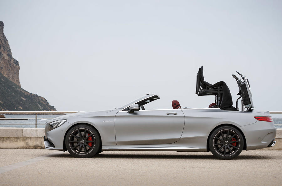 Mercedes-AMG S 63 roof opening