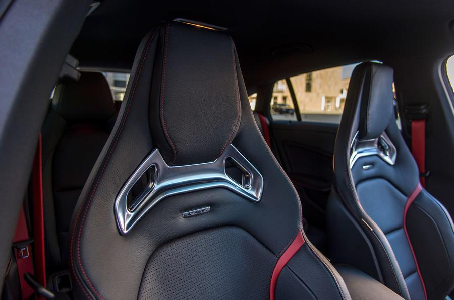 Mercedes-AMG CLA 45 Recaro seats
