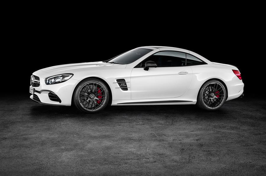 Mercedes Amg Gt Sports Car >> 2016 Mercedes-Benz SL facelift revealed | Autocar