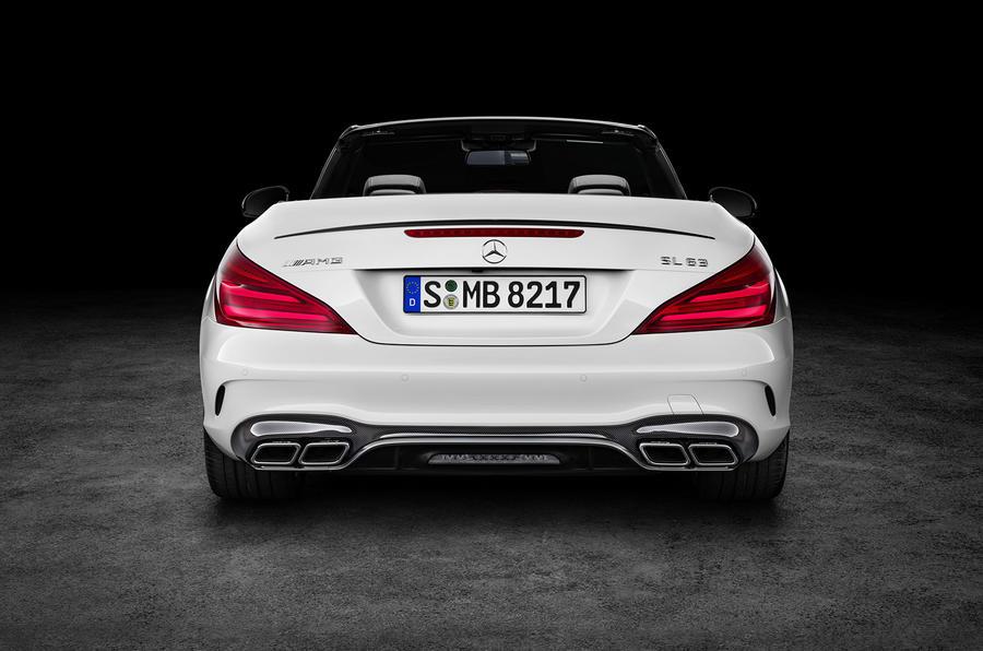 2016 Mercedes Benz Sl Facelift Revealed Autocar