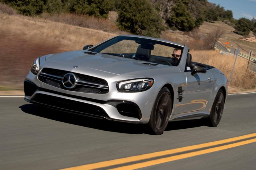 Mercedes-AMG SL63 convertible
