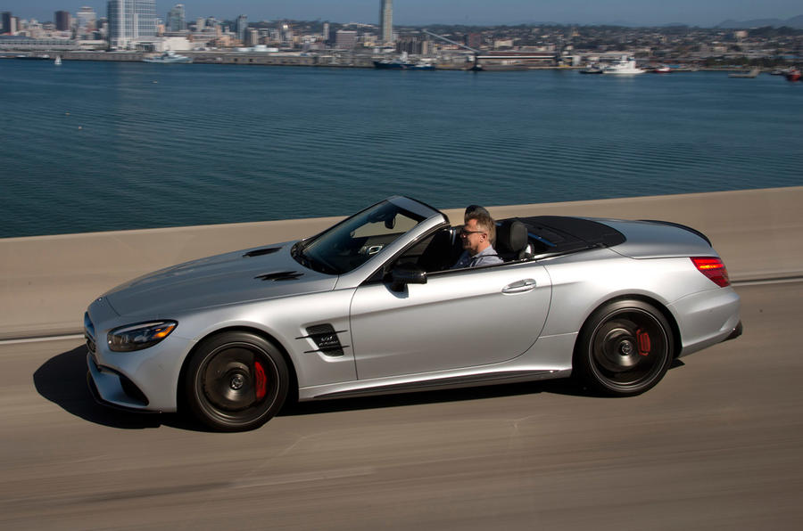 Mercedes-AMG SL 63 roof down