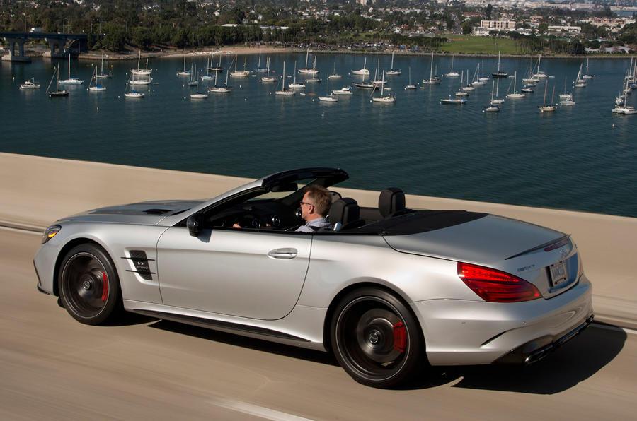Mercedes-AMG SL 63 rear