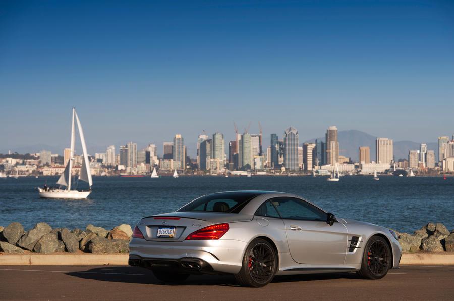 Mercedes-AMG SL 63 roof up