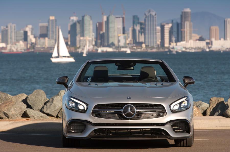 Mercedes-AMG SL 63 front
