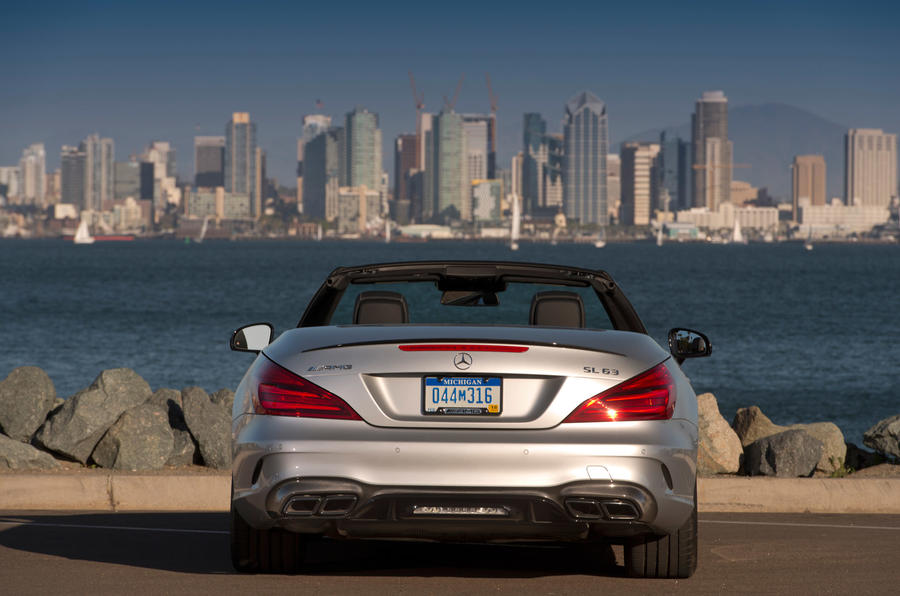 Mercedes-AMG SL 63 rear