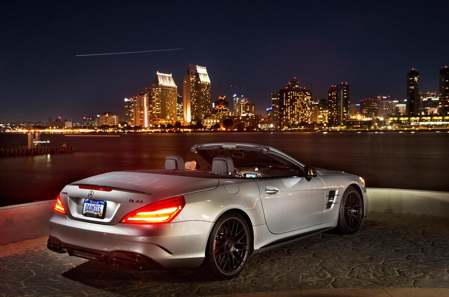 155mph Mercedes-AMG SL 63