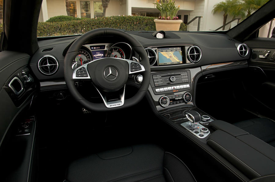 Mercedes-AMG SL 63 driver's seat