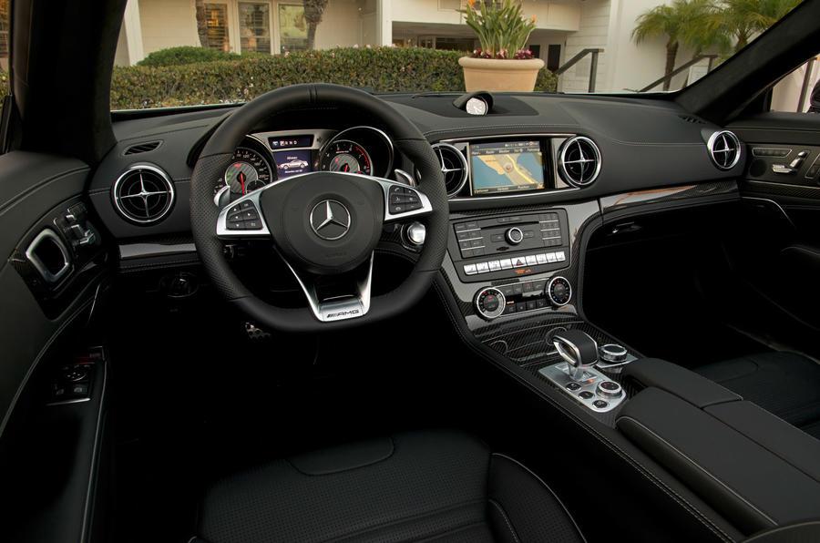 Mercedes-AMG SL 63 driver's seat
