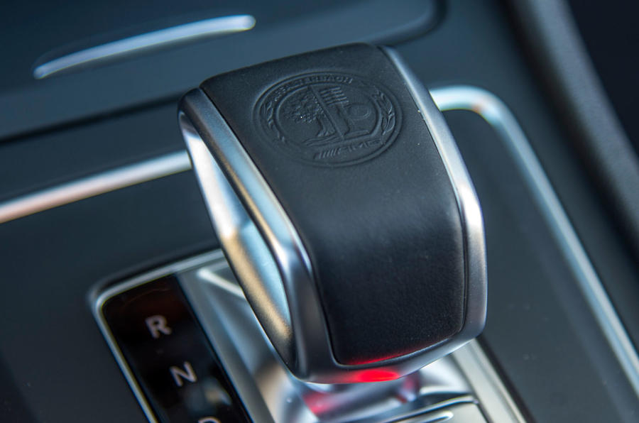 Mercedes-AMG CLA 45 automatic gearbox