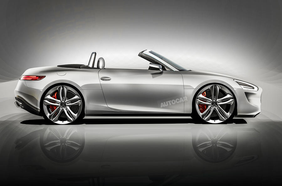 MercedesBenz targets Audi TT with new coup  Autocar