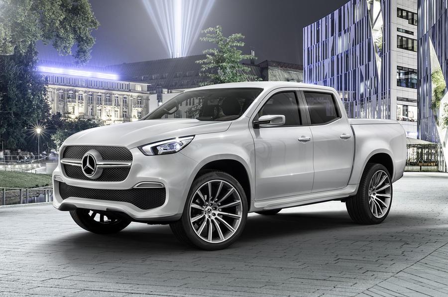 Mercedes nissan pickup