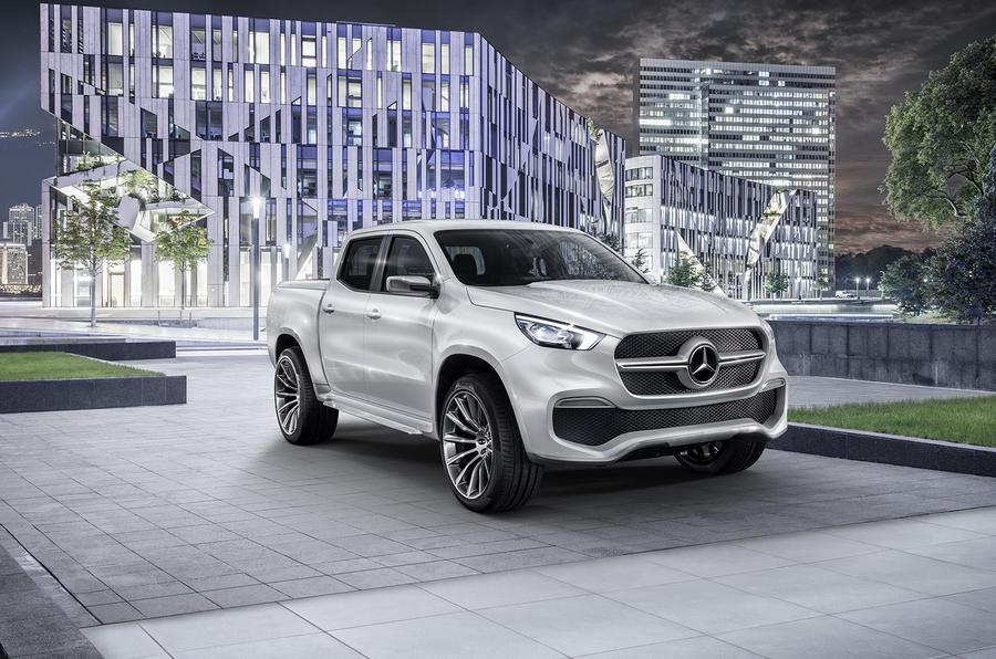 Mercedes-Benz X-Class concept previewed