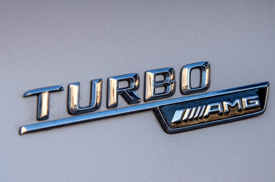 Mercedes-AMG Turbo badging