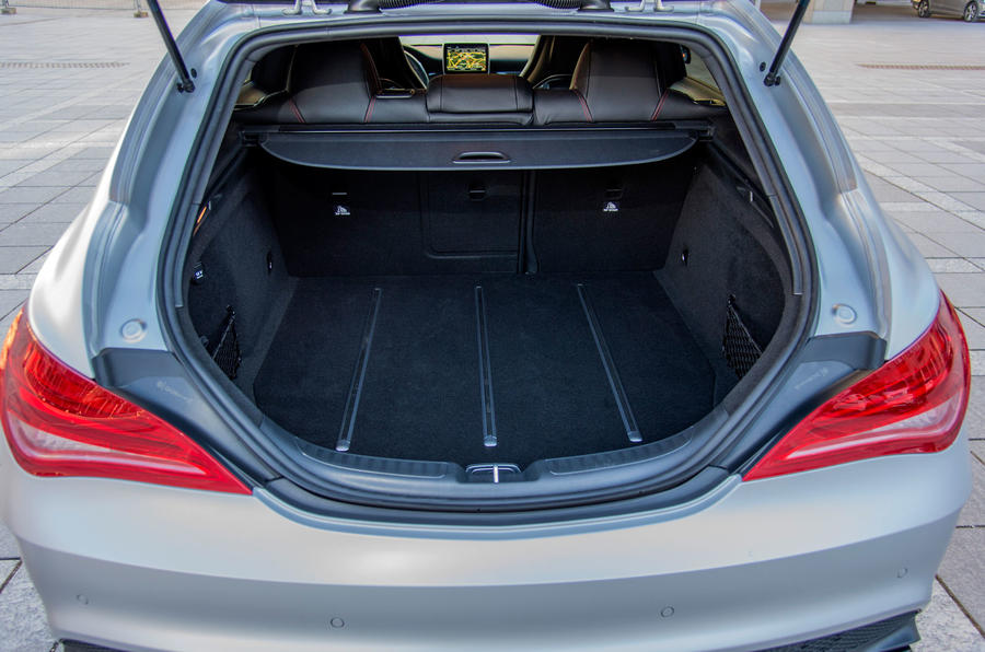 Mercedes-AMG CLA 45 Shooting Brake boot space