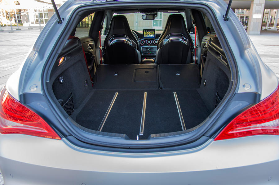 Mercedes-AMG CLA 45 Shooting Brake extended boot space