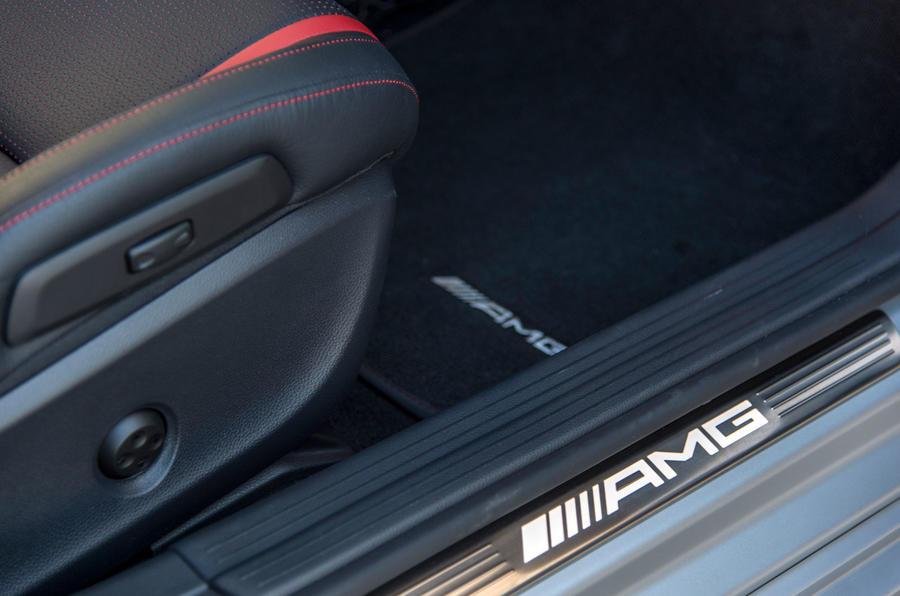 Mercedes-AMG kick plates