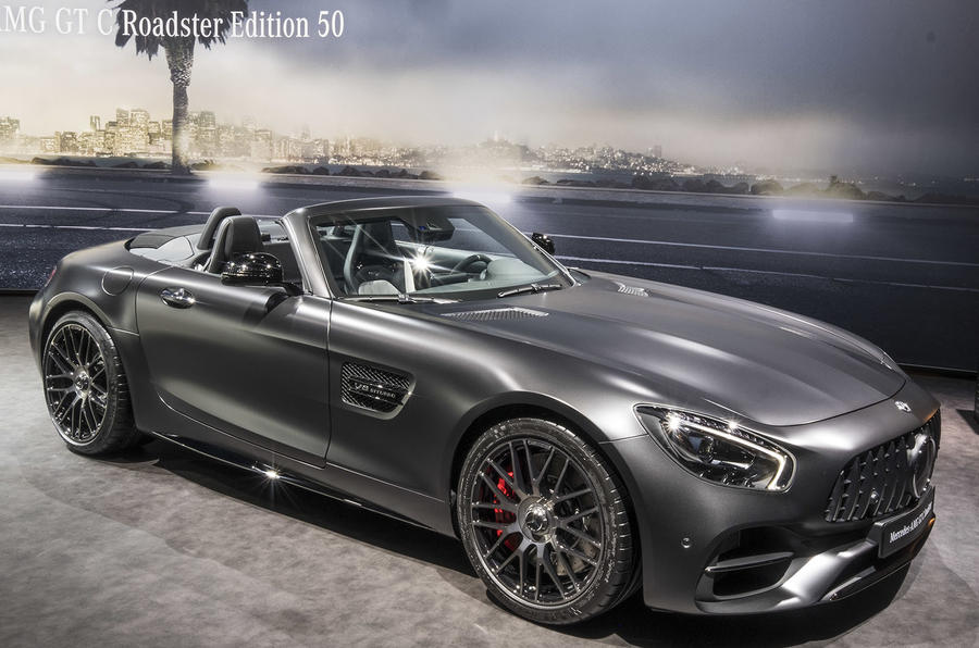 Mercedes AMG GT C Roadster Edition 50 Heads Trio Of Special Models