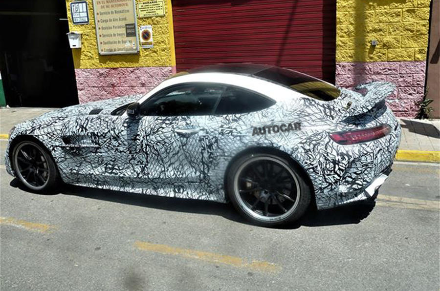 2020 Mercedes-AMG GT Black Series spyshots