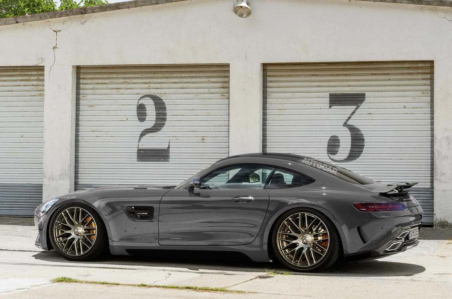 A GT3-style version of the AMG GT is also planned