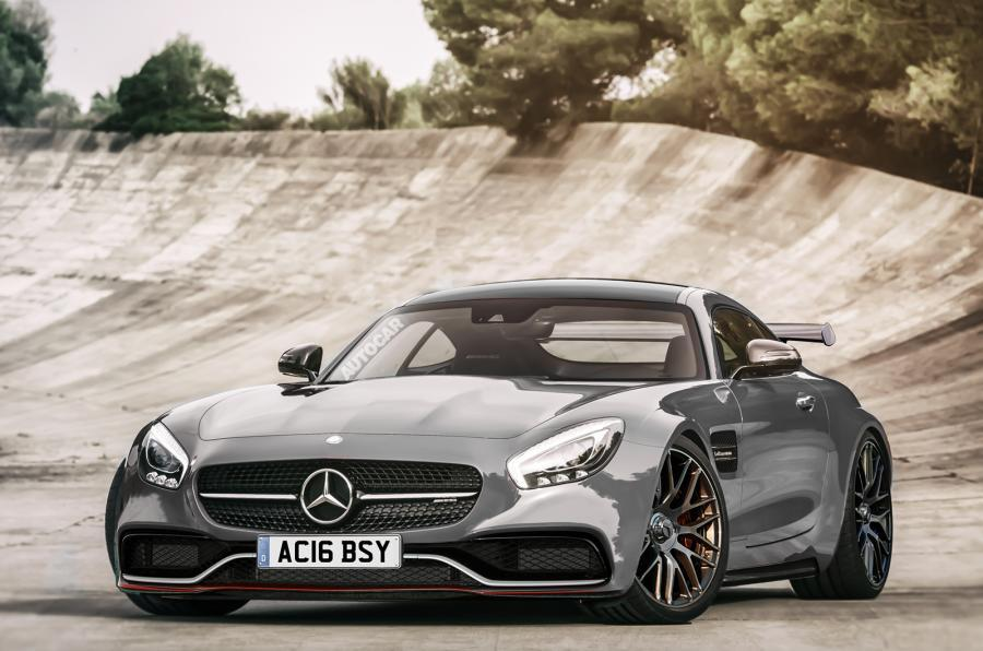 Mercedes-AMG Black Series Autocar rendering