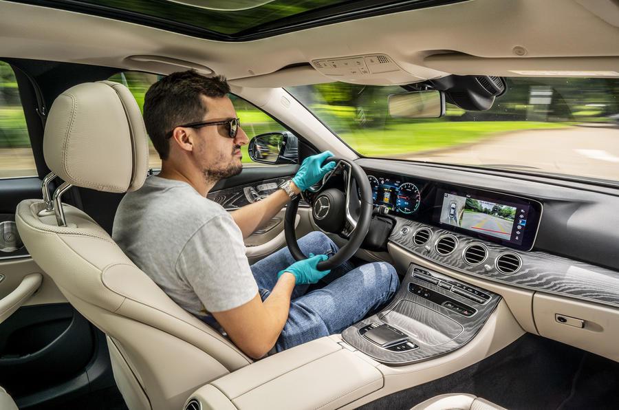 2020 Mercedes-Benz E300e - driving