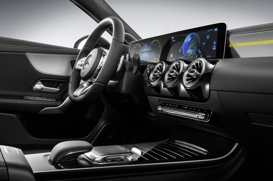 Mercedes Benz Showcases New A Class S Luxury Interior Autocar