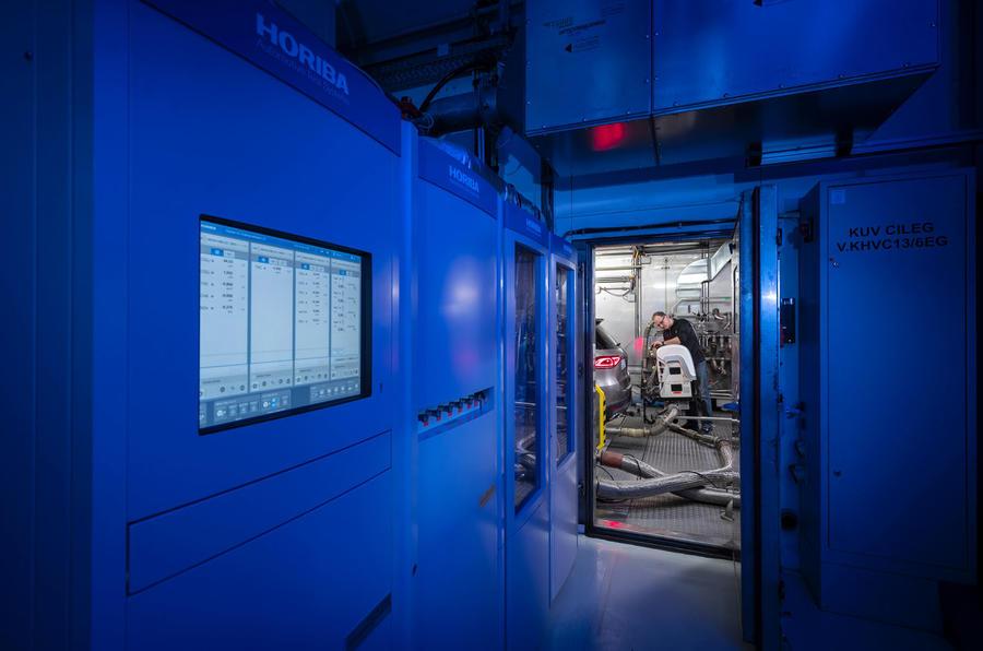 Emissions laboratory