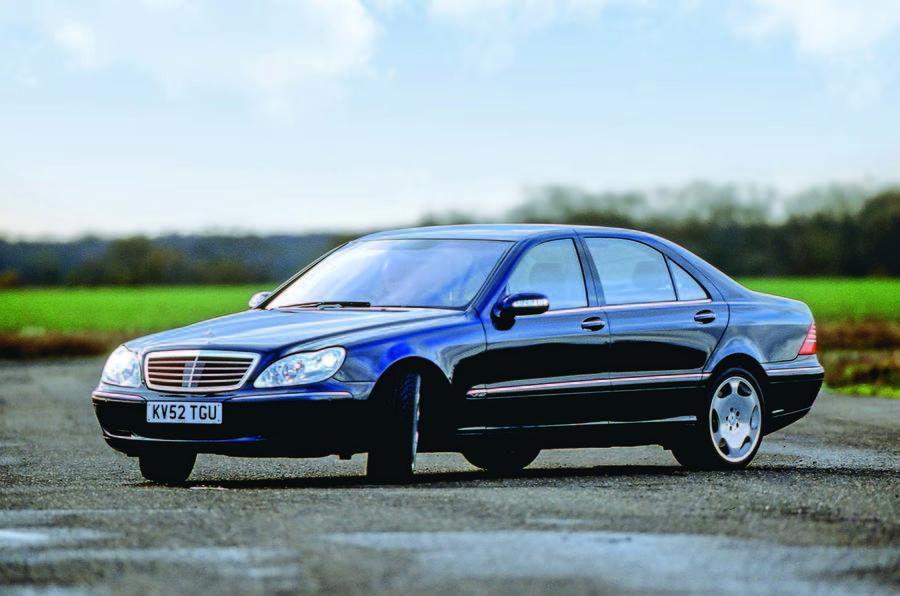 Mercedes-Benz S500 drift