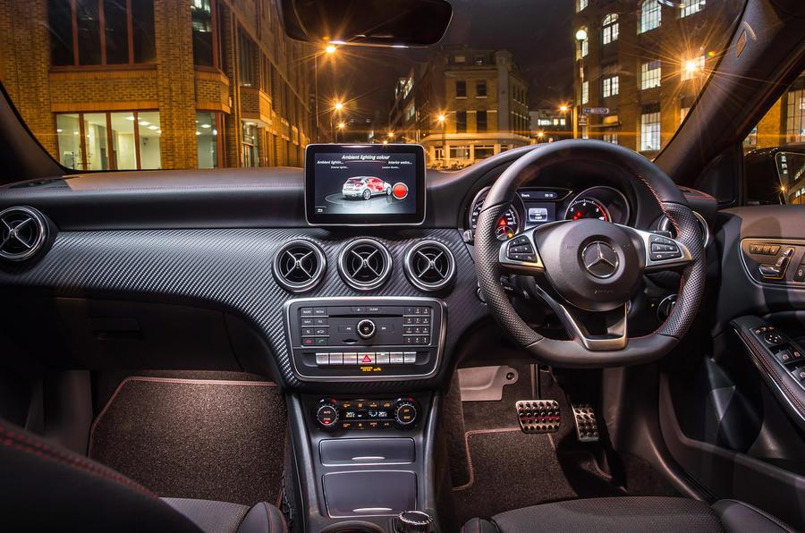 Mercedes-Benz A 200 d dashboard