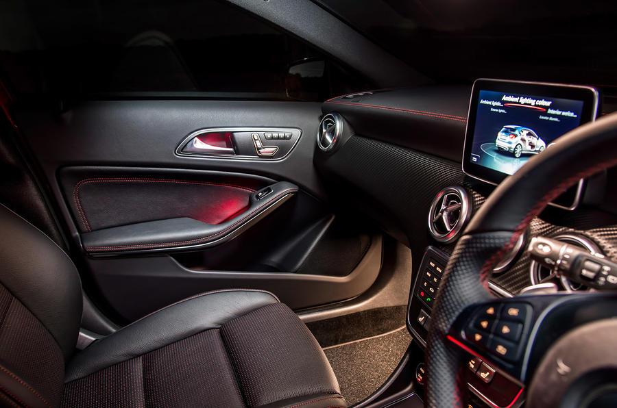 Mercedes-Benz A 200 d Sport leather interior