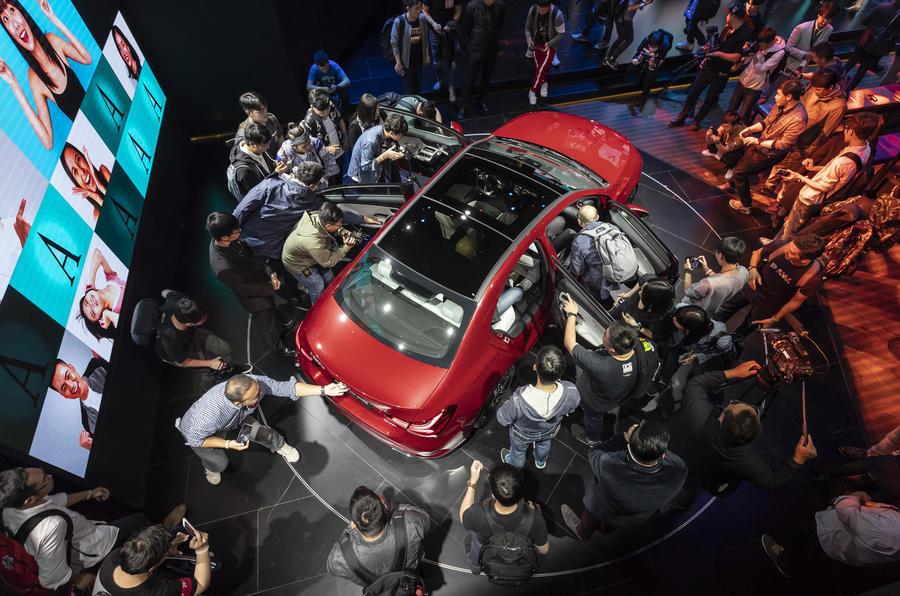 Beijing Motor Show Mercedes A-Class