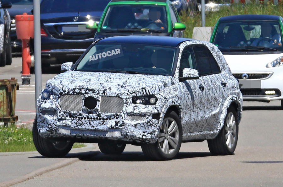2016 mercedes benz gle coupe interior - 2018 Mercedes Benz Gle Gets More Aggressive Look Autocar