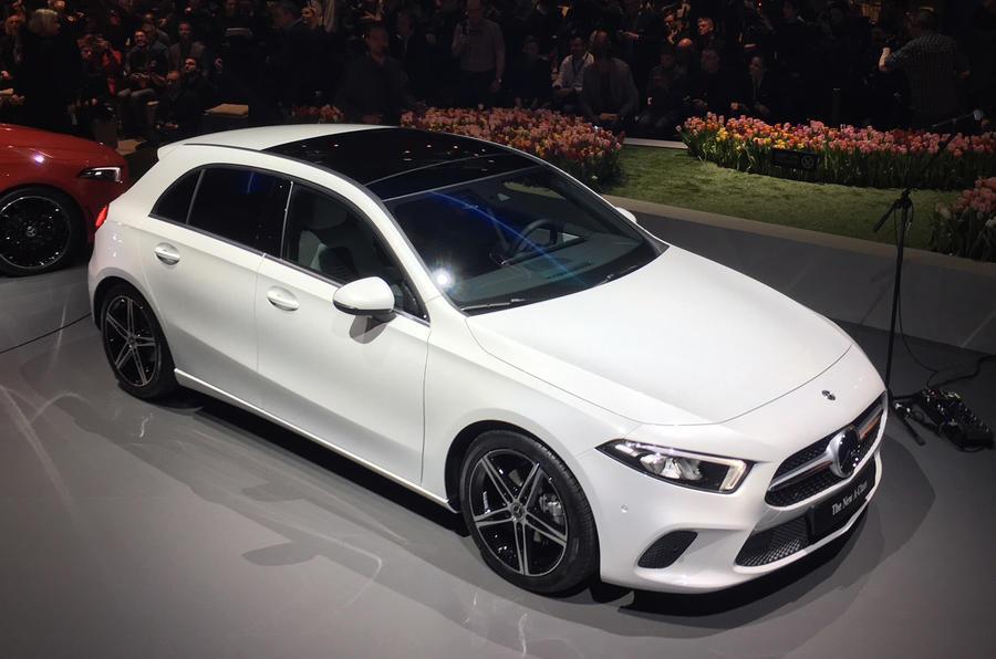 New Mercedes A-Class exterior
