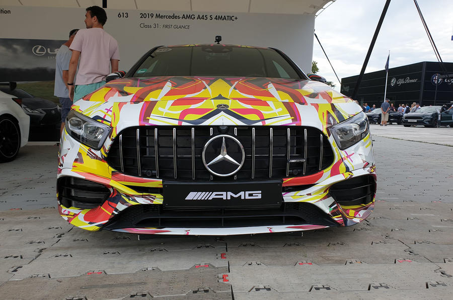 Mercedes-AMG A45 S front view