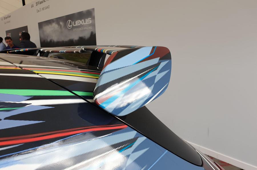 Mercedes-AMG A45 S spoiler