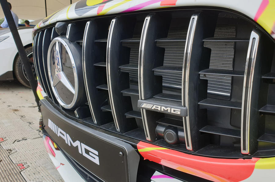 Mercedes-AMG A45 S grille