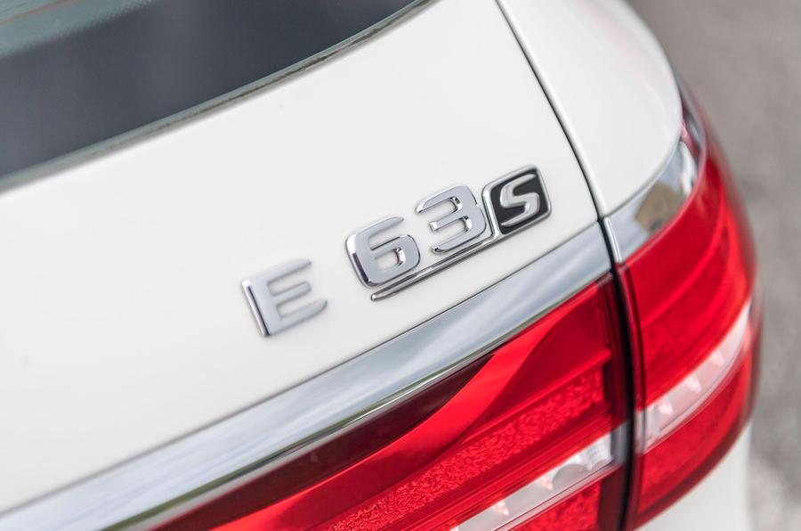 Mercedes-AMG E63 S Estate badging