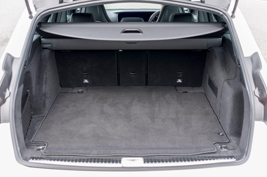 Mercedes-AMG E63 S Estate boot space
