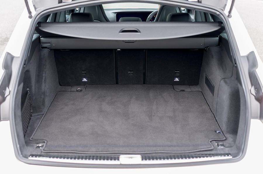 Mercedes-AMG E63 S Estate boot space